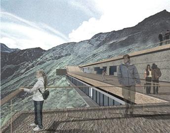 Machu Pichu Hotel : perspective toit terrasse