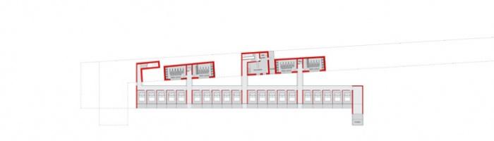 Machu Pichu Hotel : plan frooms level