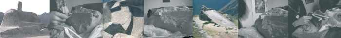 Machu Pichu Hotel : immagini plastico e pietra