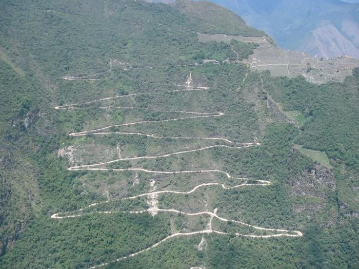 Machu Pichu Hotel : CHEMIN VERS MACHU PICHU