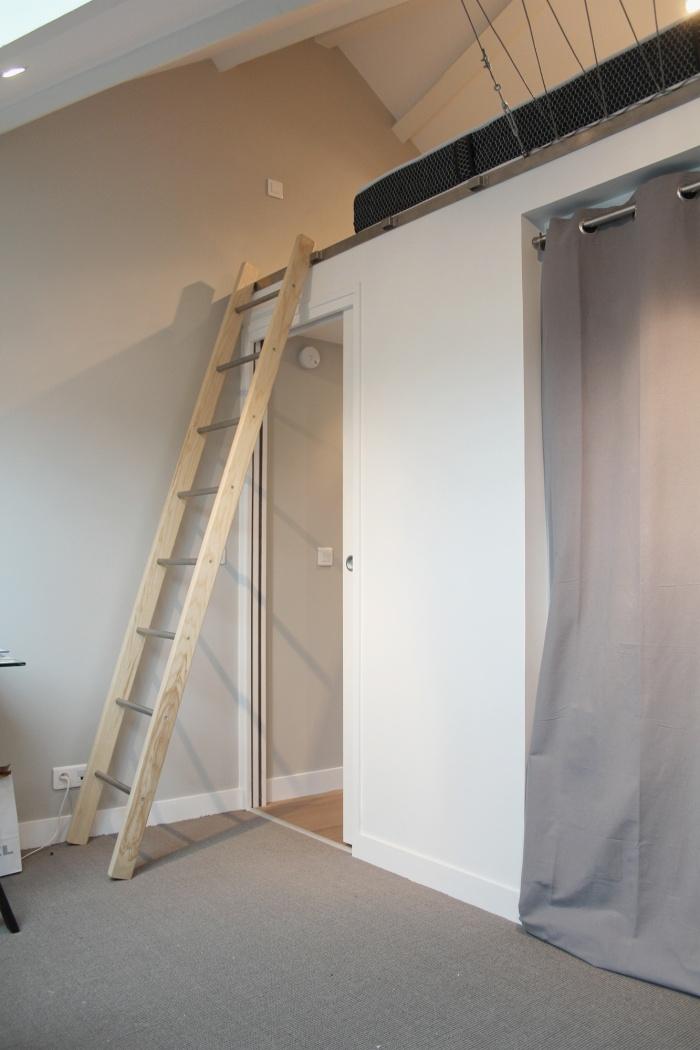 Rénovation d'un appartement : Vue sur mezzanine