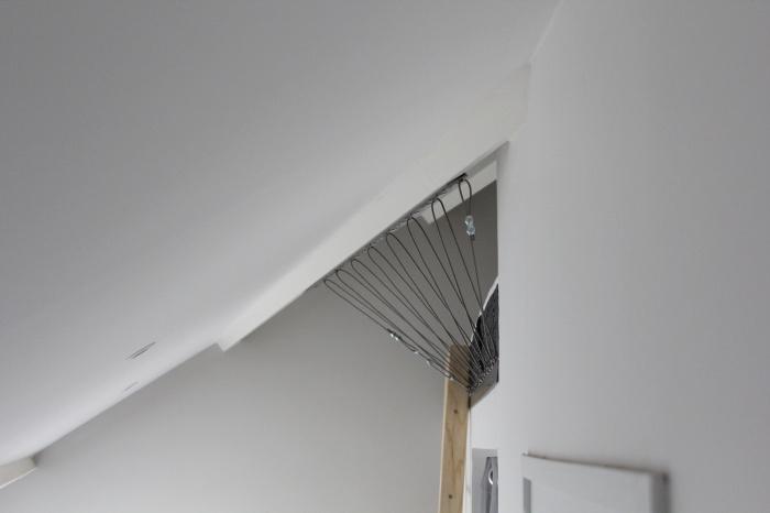 Rénovation d'un appartement : Garde corps de la mezzanine