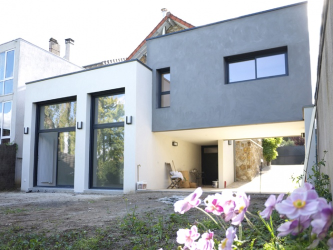 Réaménagement et extension d'une maison individuelle