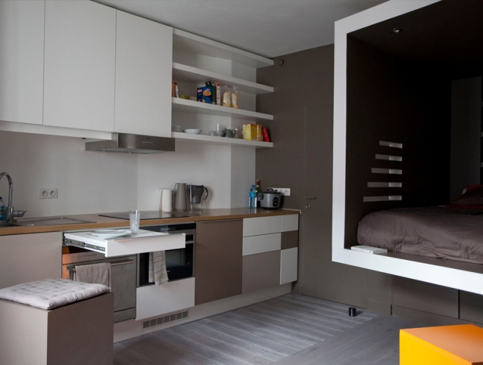 flying bed paris une r alisation de cyril rheims. Black Bedroom Furniture Sets. Home Design Ideas