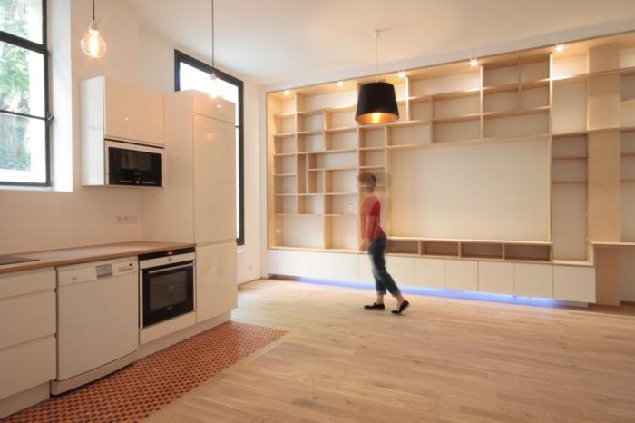Un appartement rue blanche paris une r alisation de for 11 rue de la maison blanche 44941 nantes