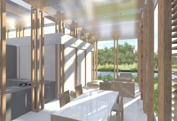 h 09 maison modulaire cacela velha algarve portugal une r alisation de um. Black Bedroom Furniture Sets. Home Design Ideas