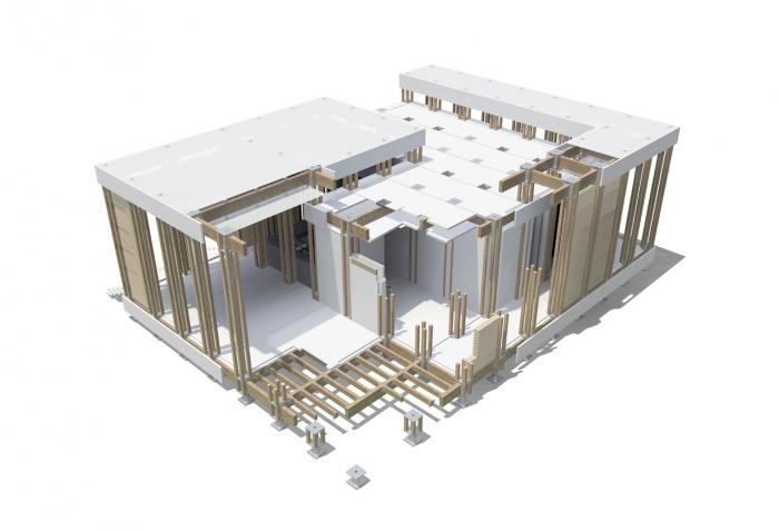 H 09 - Maison Modulaire : H09 1