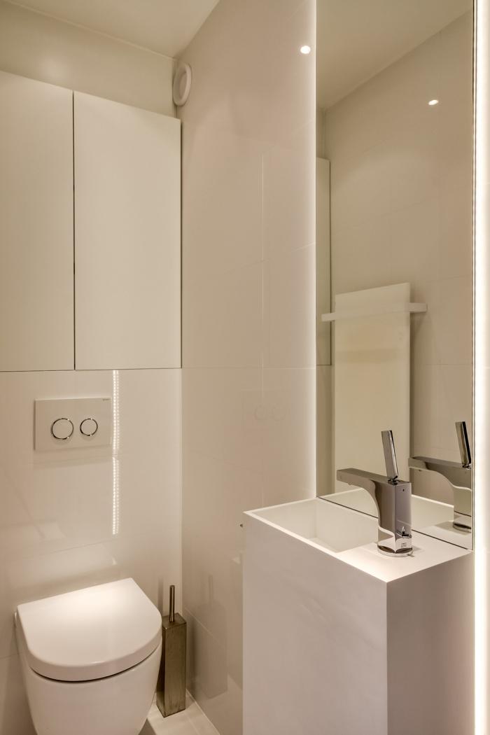 Appartement à Paris 07 : Vue WC