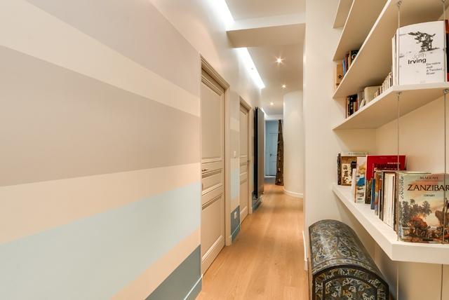 Appartement Paris 9 : Poissonnières-couloir