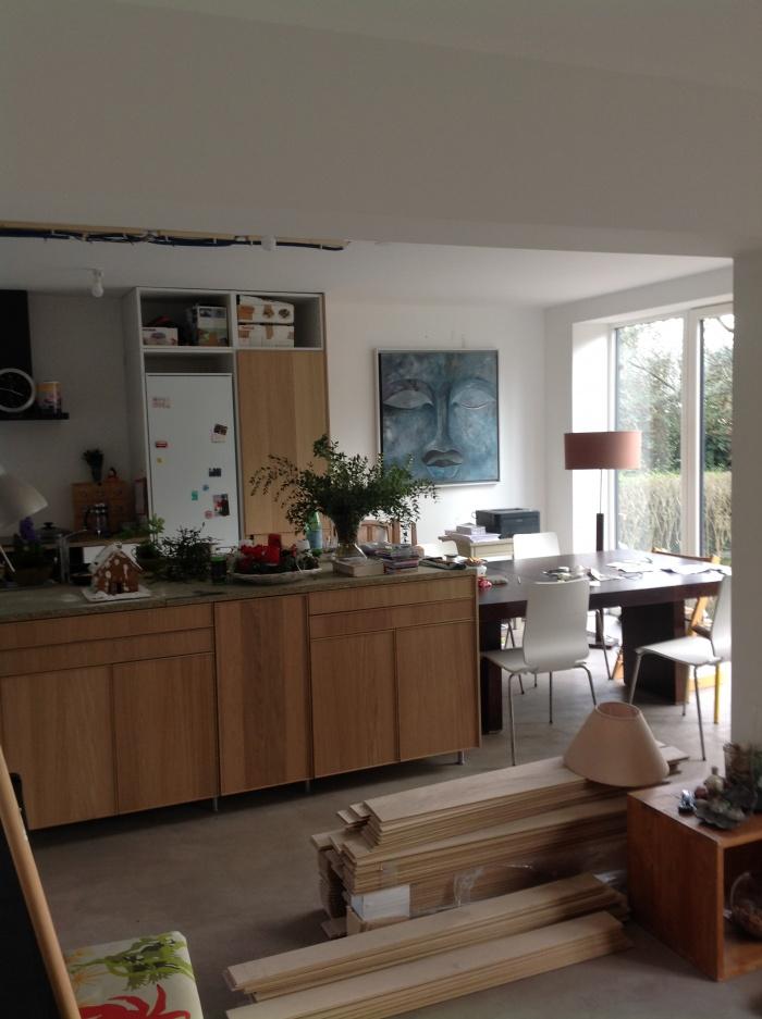 Rénovation et surélévation d'une maison à Mareil-Marly