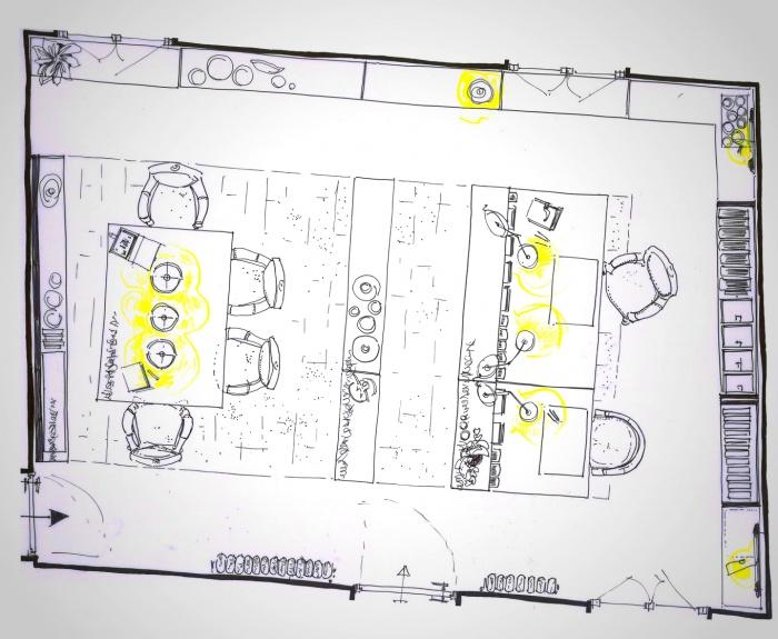 Etude pour la création de bureaux : bureaux3