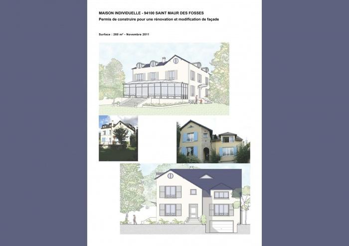 Permis de construire pour une extension de maison individuelle