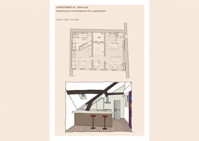 Appartement M 75014