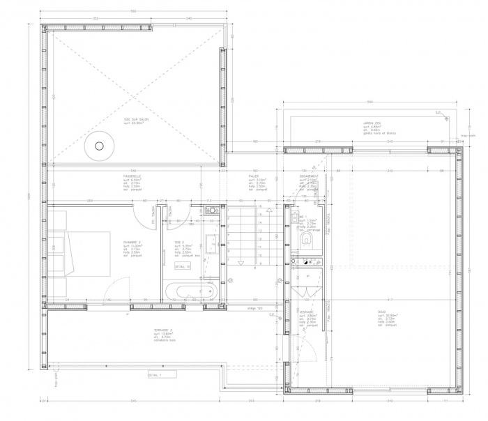 Maison au Dojo - Construction à ossature bois (78)