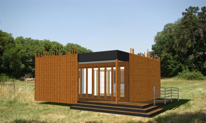 Construction de 24 chalets en bois