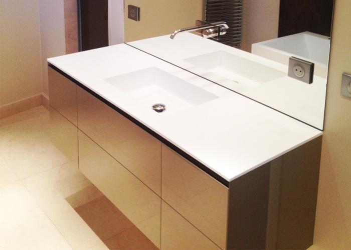 Aménagement et décoration d'une maison neuve : Salle de bain