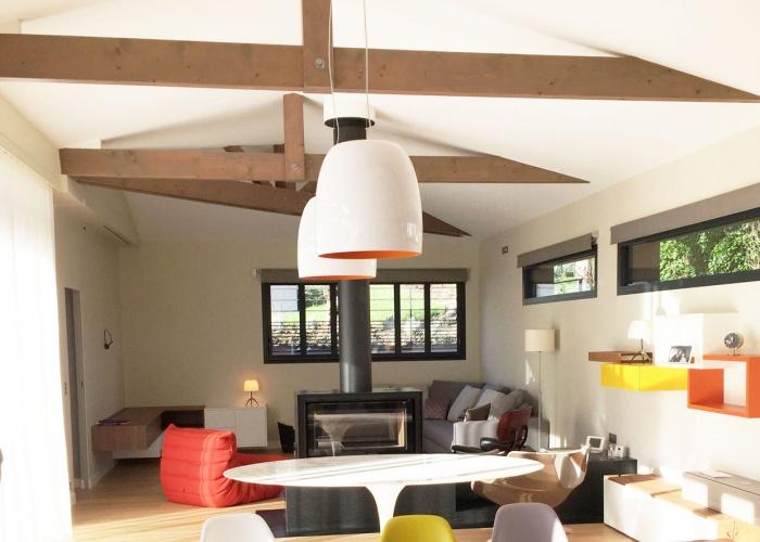Aménagement et décoration d'une maison neuve : Séjour