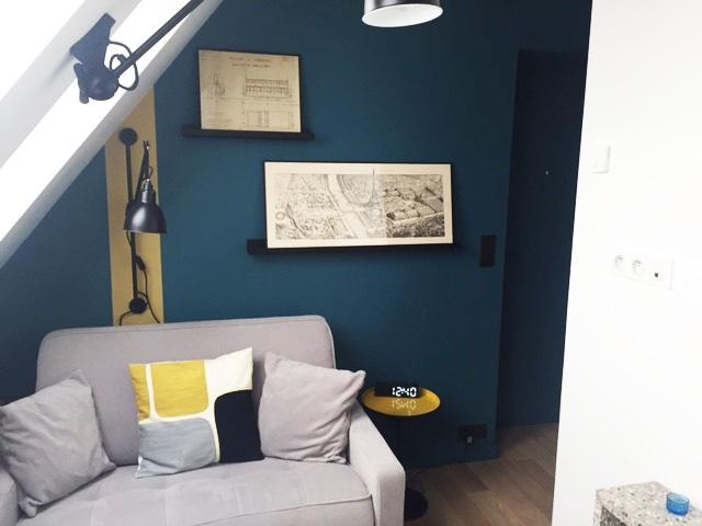 Rénovation d'un studio Paris : Séjour