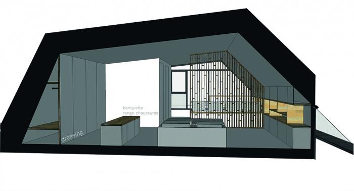 Projet de surélévation - Penthouse : 4_DETAIL_R+4_CHAMBRE low