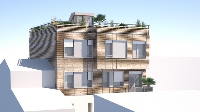 Surélévation d'un immeuble parisien : surelevation paris 4