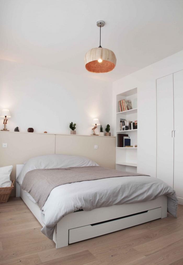 Réfection d'un duplex : chambre