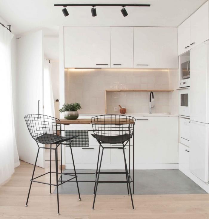 Réfection d'un duplex : cuisine