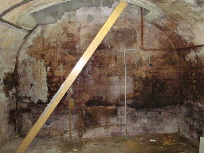 LOFT SOUPLEX B : Cave existante et escalier existant