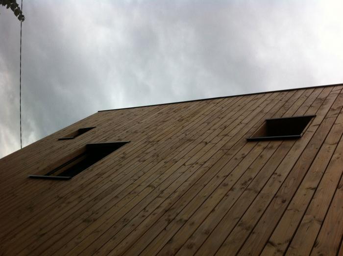 Maison en bois à Montlignon (95)