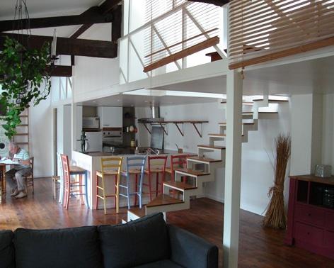 Aménagement intérieur loft