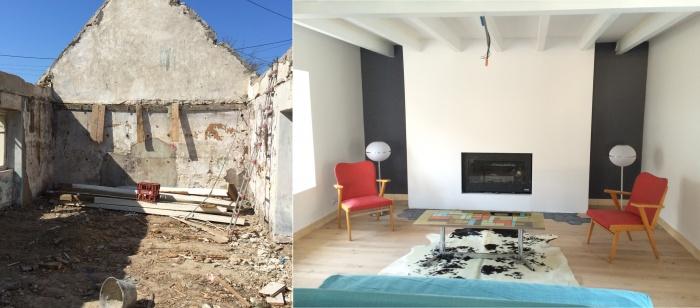Rénovation d'une maison et d'une longère à Belle-ile-en-mer : BORT 07BD