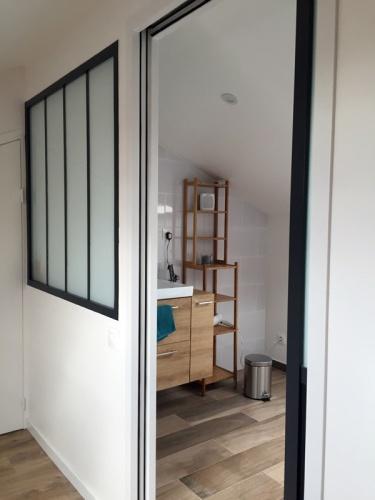 Création d'un duplex par aménagement de combles : Duplex Ivry Salle de bain Verrière atelier