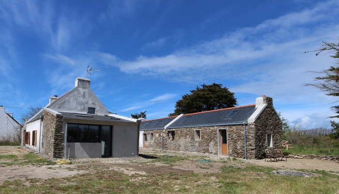 Rénovation d'une maison et d'une longère à Belle-ile-en-mer : BORT 13BD