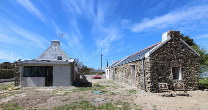 Rénovation d'une maison et d'une longère à Belle-ile-en-mer : BORT 14BD
