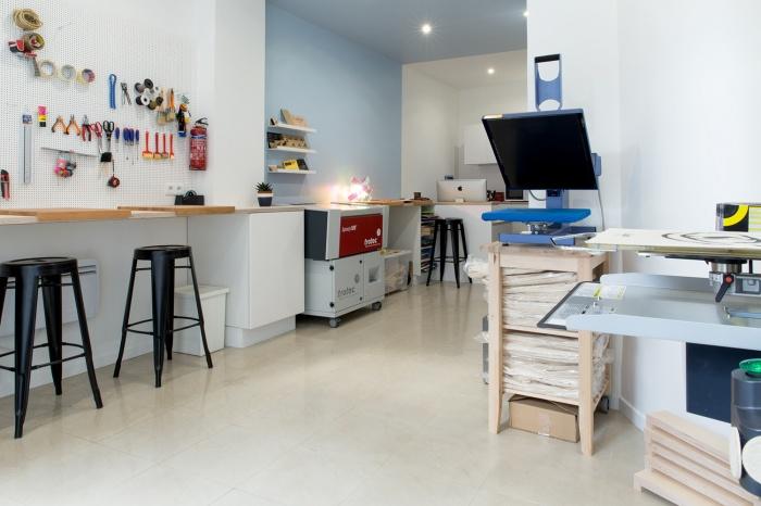 Boutique de créateur : Atelier & machine