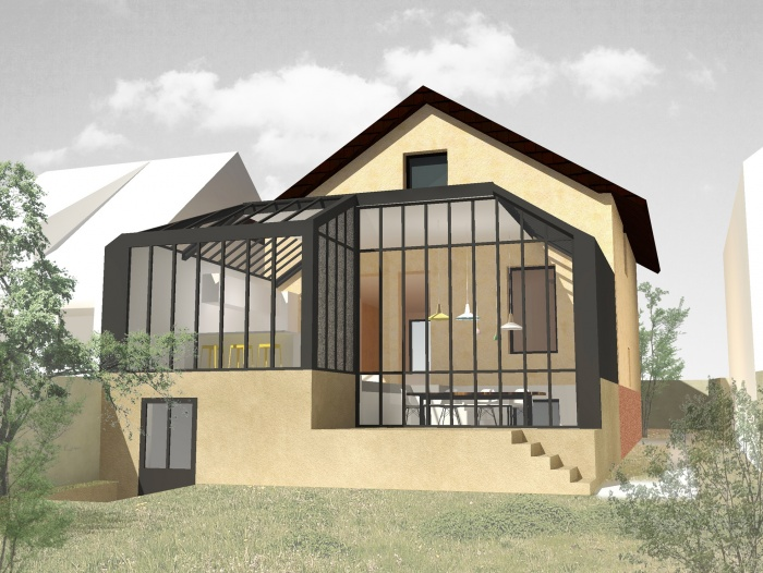 Rénovation et extension d'une maison à Chatou