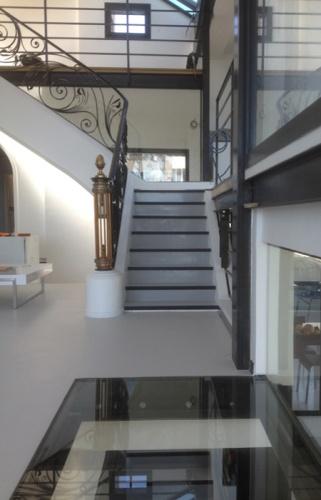 VILLA BELLEVUE : escalier monumental