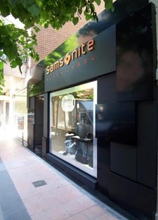 Store concept Samsonite Black Label