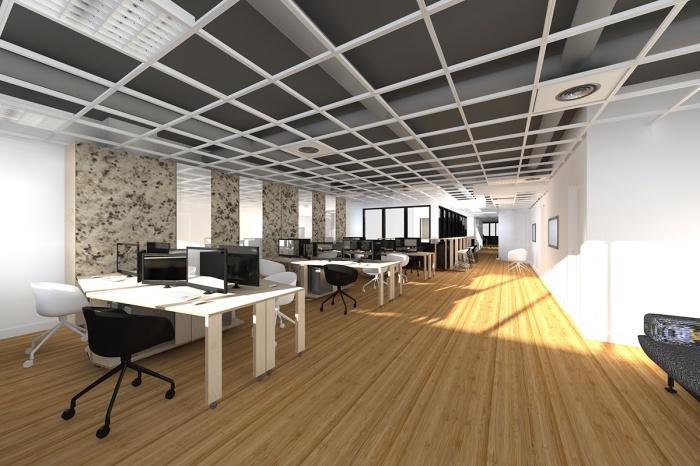 Woodwork / Rénovation de bureaux