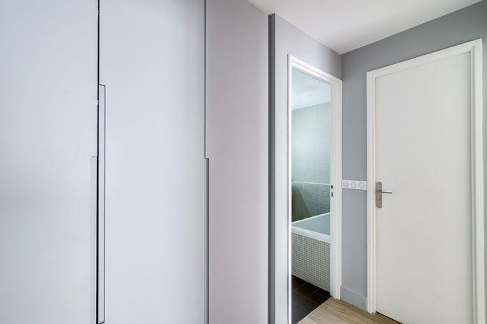 APPARTEMENT L : couloir dressing