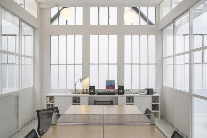 Rénovation de bureaux et création d'un studio de post-production : CRM BBD 2