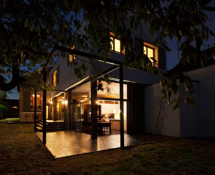 Architectes extension d 39 une maison 92 bois for Architecte extension maison 92