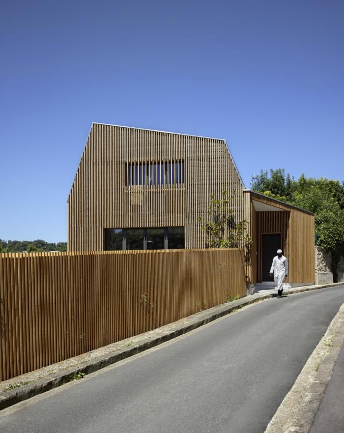 Extension en bois et restructuration d'une maison : 3