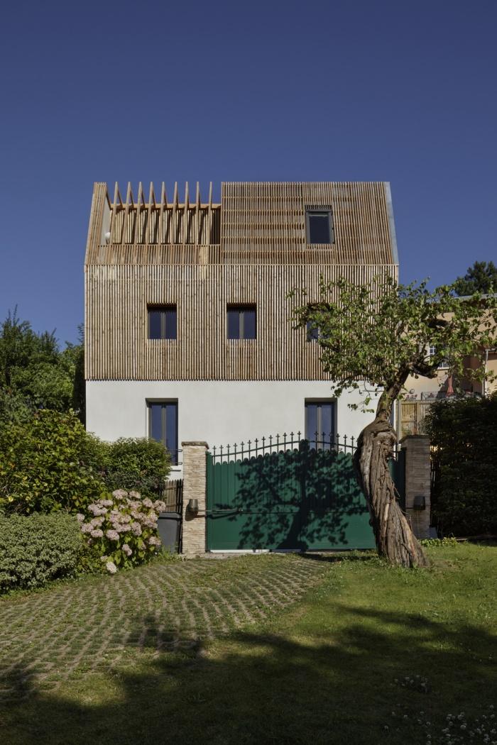 Extension en bois et restructuration d'une maison : 6
