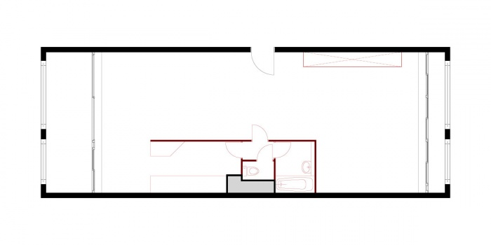 Réaménagement d'un appartement : 22_plan_exi