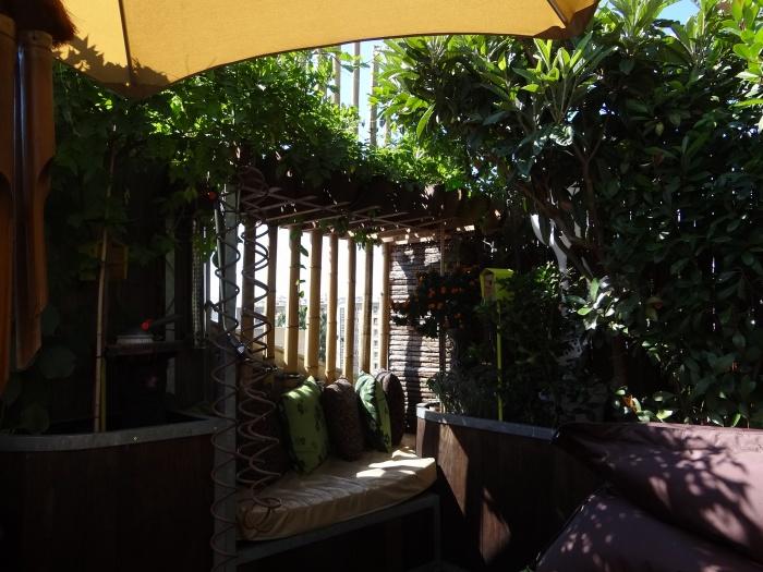 Surélevation d'un duplex et création d'une terrasse : terrasse