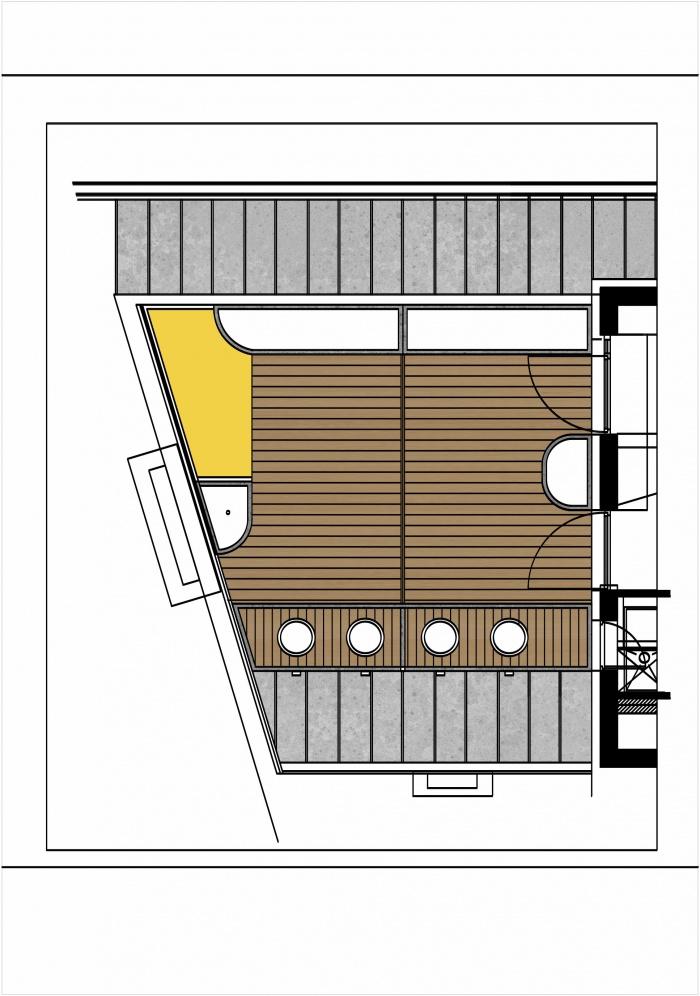 Surélevation d'un duplex et création d'une terrasse