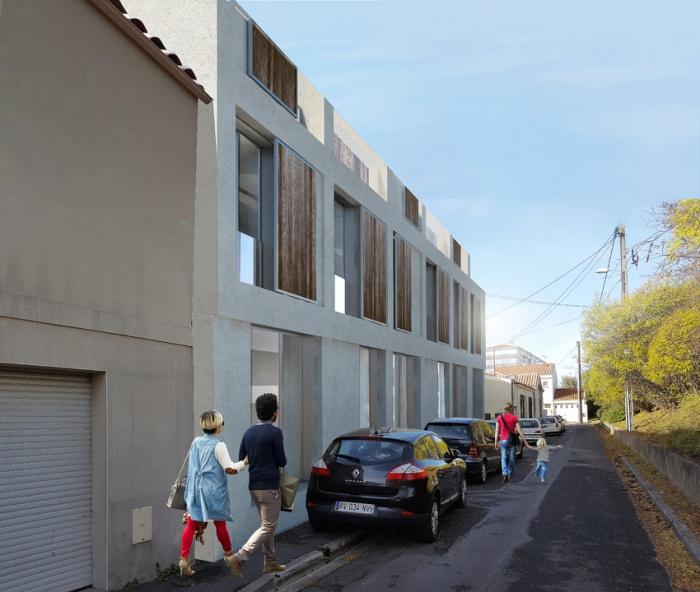 23 logements rue des Champs