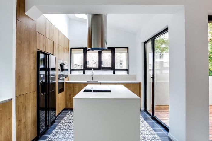 architectes r novation et r organisation d 39 un appartement classique paris 15. Black Bedroom Furniture Sets. Home Design Ideas