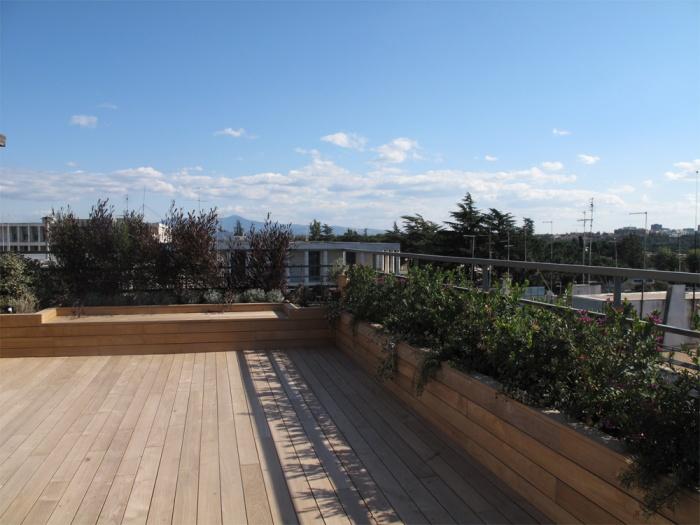 Architectes am nagement d 39 un toit terrasse for Edicule toiture terrasse