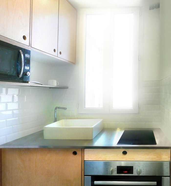 Aménagement d'une cuisine dans un espace réduit : 05b